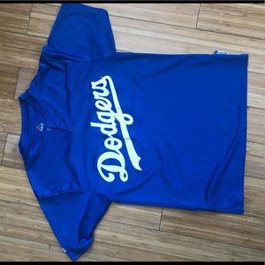 A Dodger kids tee shirt.